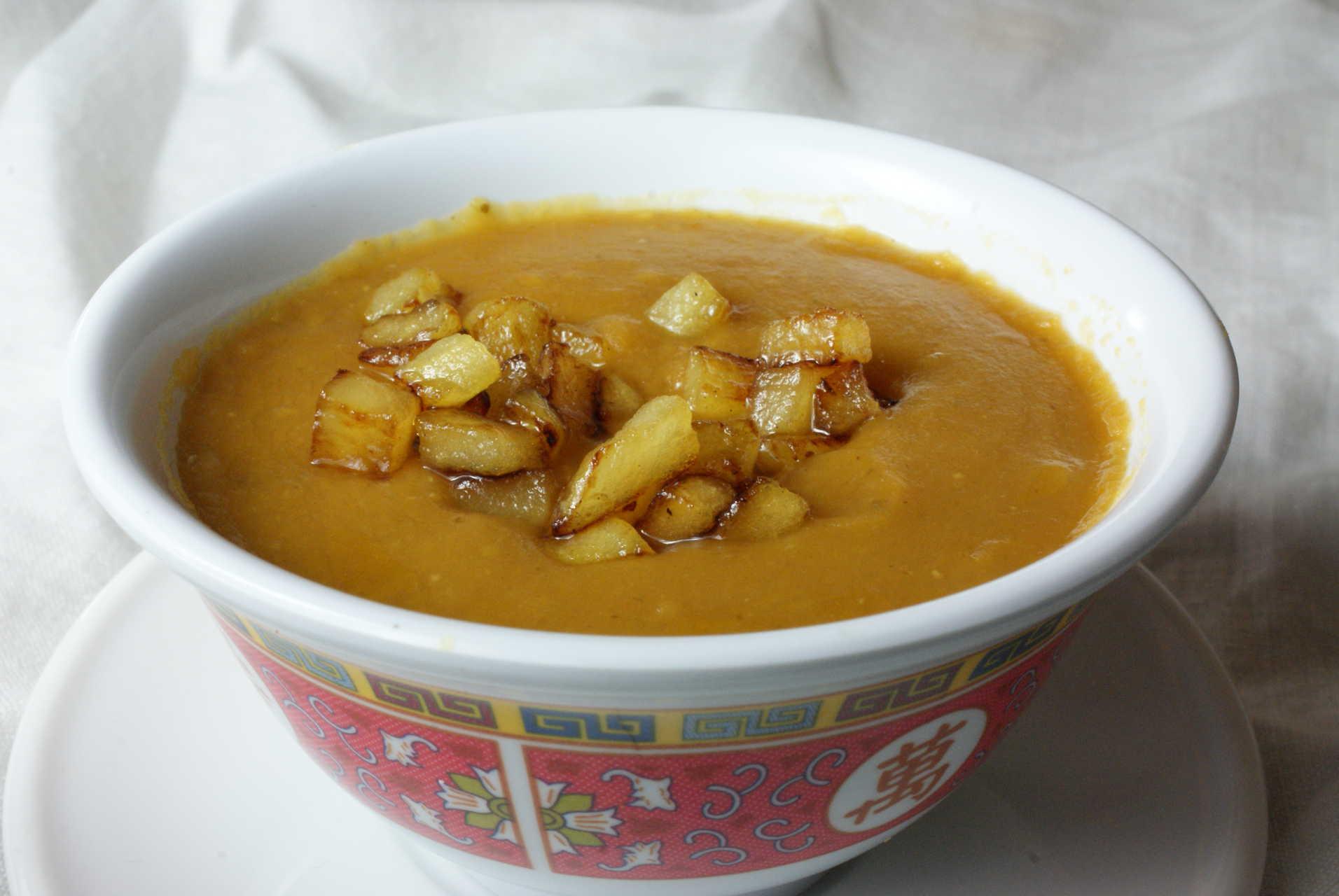 Ginger And Lentil Soup Recipe — Dishmaps