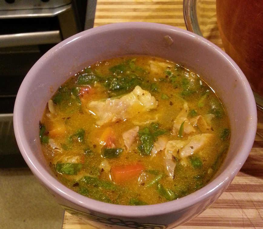 Pumpkin palooza autumn 2013 for Fish soup recipe cod